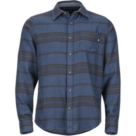 Marmot Fairfax Midweight Flannel LS Shirt Herr dark indigo